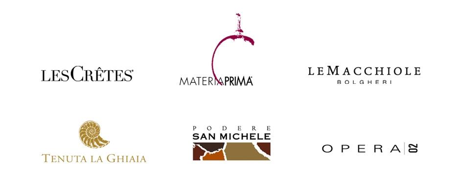 Loghi per aziende vinicole