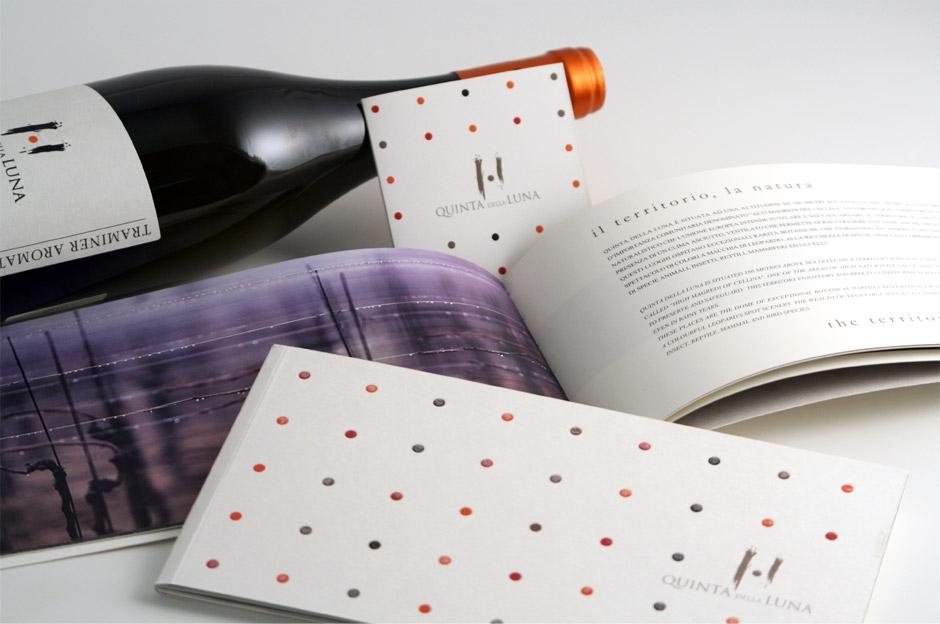 Quinta della Luna: brochure e pieghevole