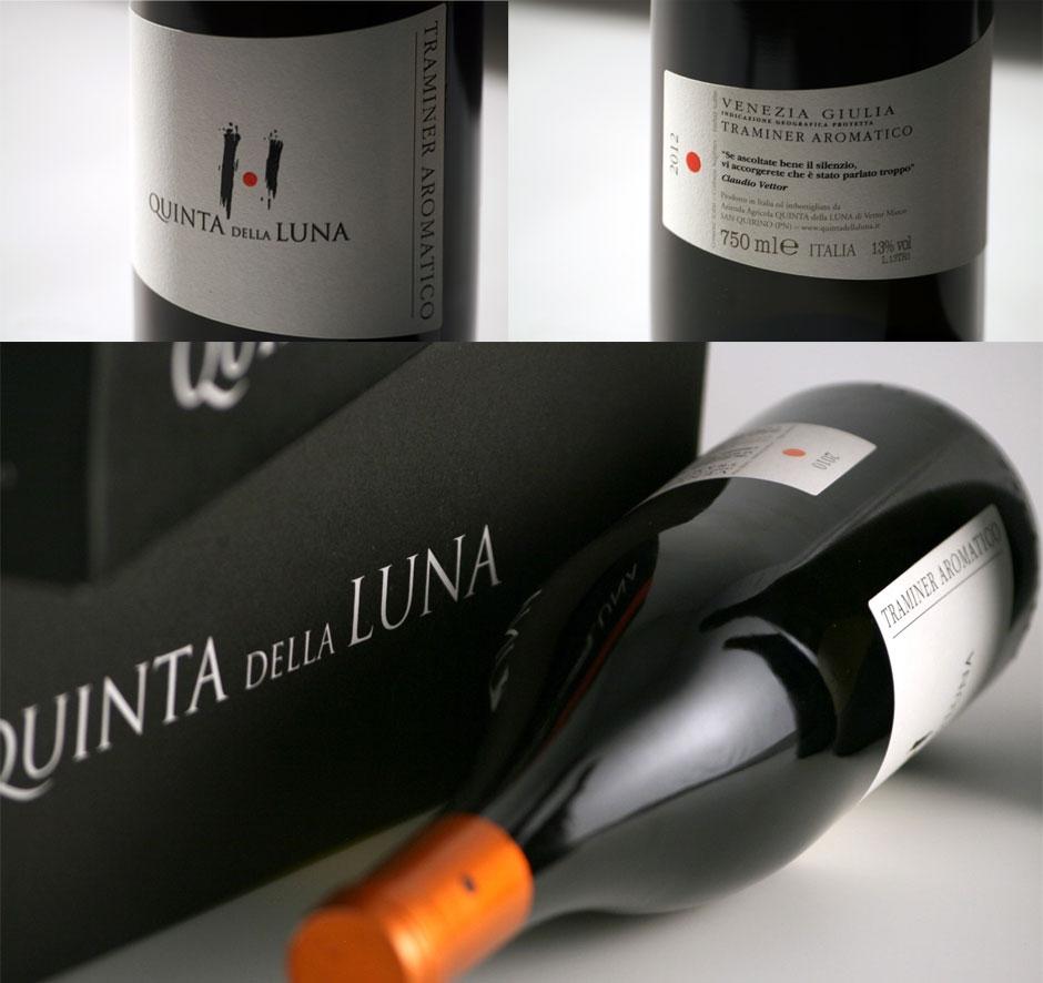 Quinta della Luna: logo, etichette, sito web per l'azienda friulana