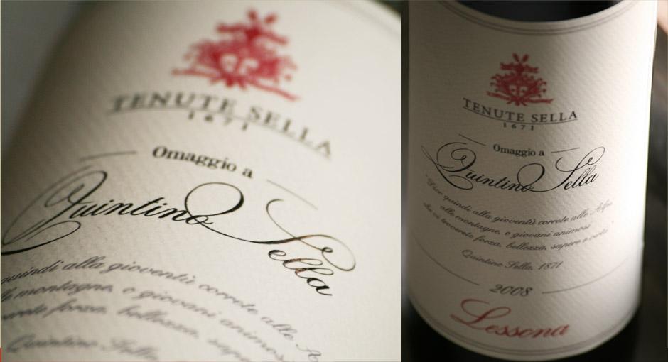 Tenute Sella: rileggere la tradizione... il restyle della storica etichetta del vino