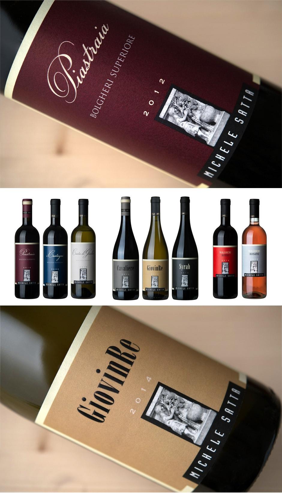 Michele Satta: la storia del vino di Bolgheri. Il restyling delle etichette.