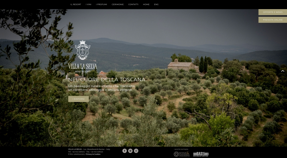 Villa La Selva, wine resort nel cuore della Toscana